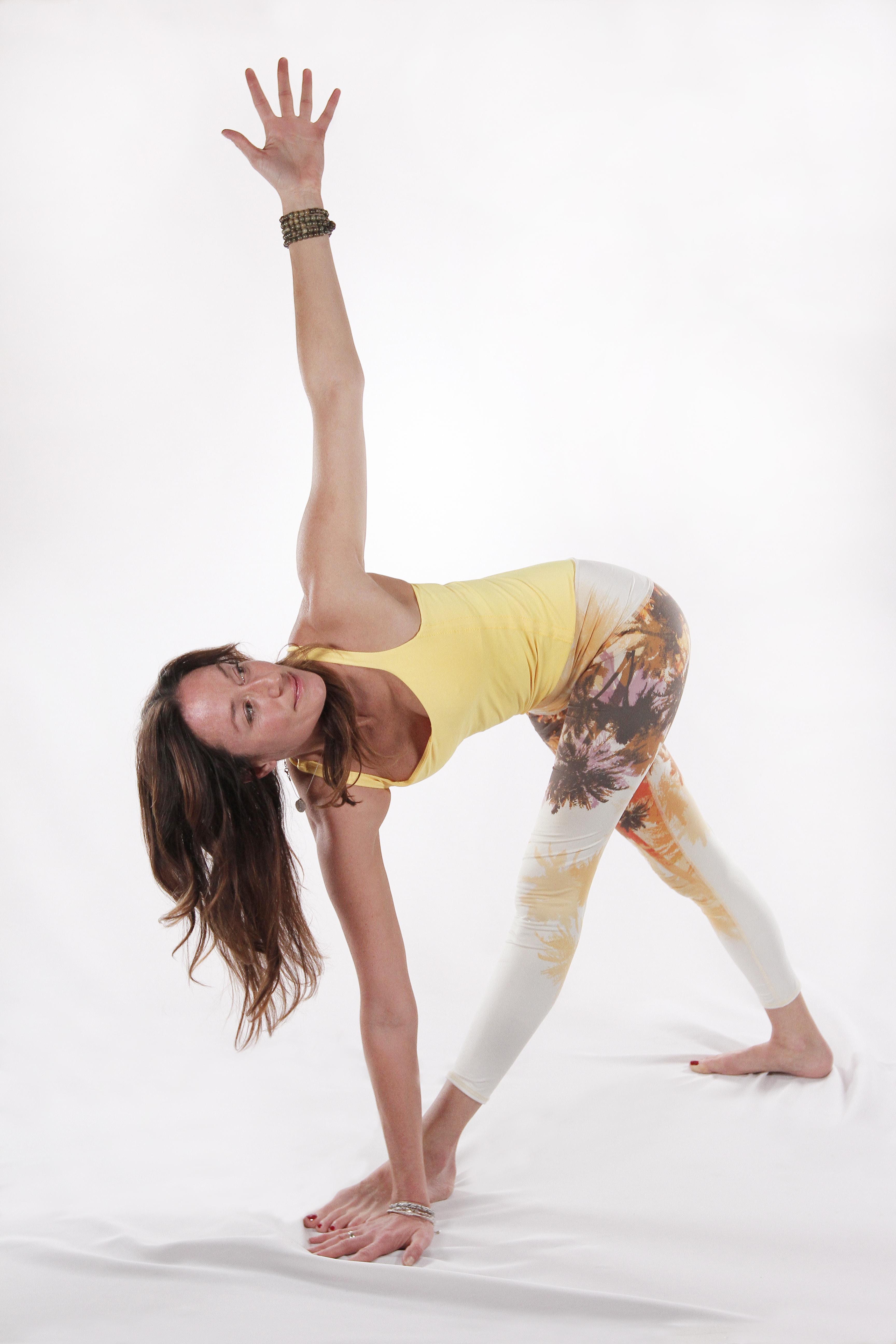 yoga in studio